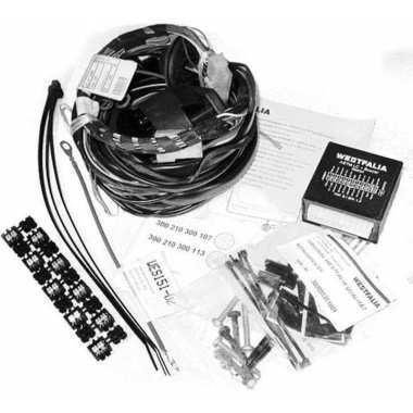 Универсальная электрика фаркопа 13-pin Westfalia 300210300113