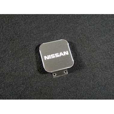 Заглушка на фаркоп с логотипом (Nissan) ТСС, артикул TCUZNIS1